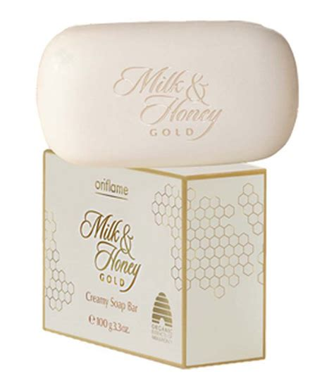 Oriflame Milk Honey Gold Moisturising Shower 31605 oriflame milk honey gold soap bar set of 3 buy oriflame milk honey gold soap bar set of 3