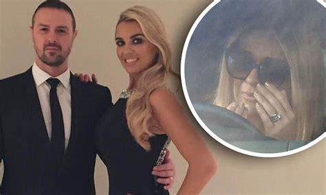 paddy mcguinness comforts tearful wife christine daily