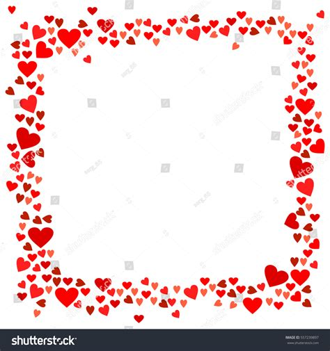 valentines day card design hearts vector stock vector abstract love your valentines day greeting stock vector