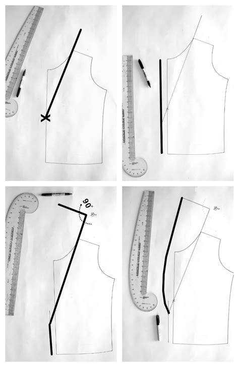pattern drafting notch collar how to draft a shawl collar vest the sewing rabbit