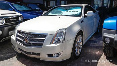cadillac cts 3 6 for sale aed 55 000 white 2011