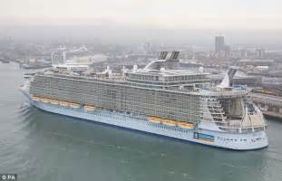 world s largest cruise ship debuts with high energy high if this high rise horror is really the future of cruising