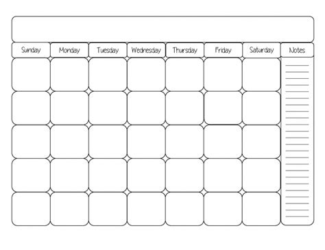 write in calendar template printable calendars by month you can write in calendar