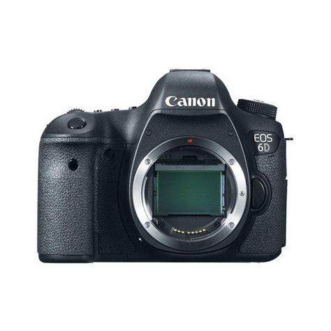 jual canon eos 6d only kamera dslr hitam