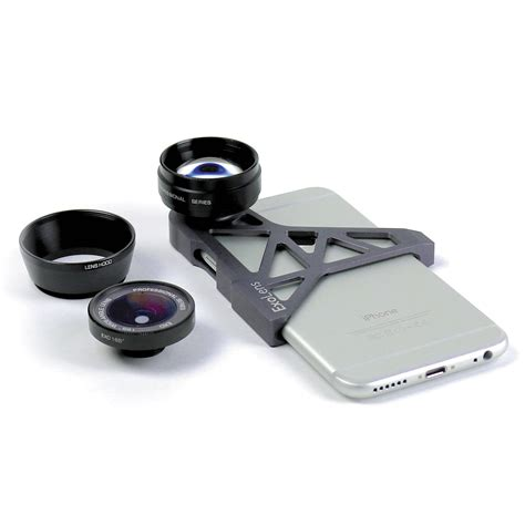 exolens lens system for iphone 6 6s 94722 b h photo