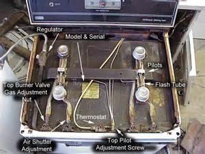 how to light a gas oven range oven american range oven pilot light