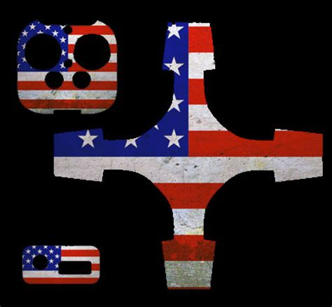 Sticker Drone Dji Phantom 4 Indonesia Flag 2 phantom 3 drone decal american flag