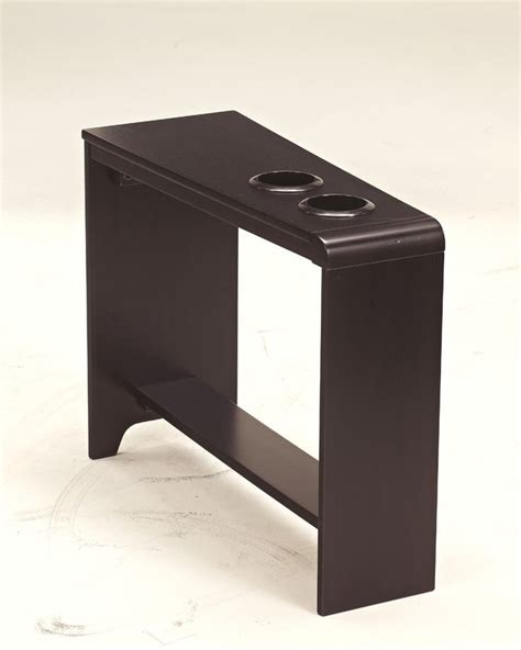 table cup holders cup holder chairside end table the carlyle occasional