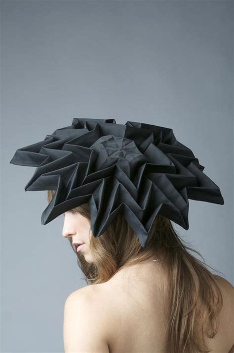 Origami Hats Designs - future fashion origami dinamici flaw 173 wevux