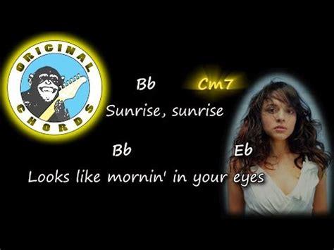 norah jones sunrise chords norah jones sunrise chords lyrics youtube