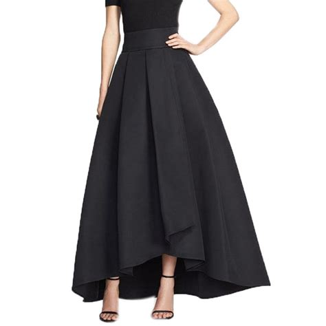 Maxi Pocket Skirt 880 Rok Panjang Rok Flare Ro Grosir 1 2016 high low skirts for navy blue green black skirt clothing