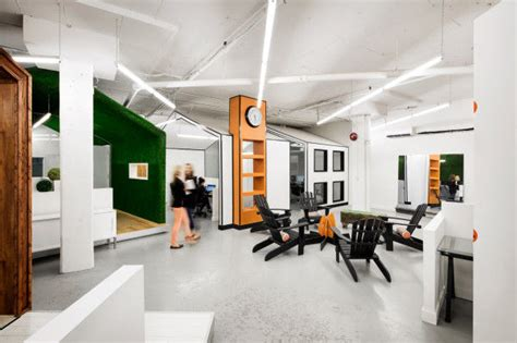 creative office design controlled chaos office spaces creative office design