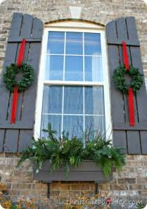 Outdoor Windows Decorating Thrifty Decor Thrifty Decor And Outdoor Decor On