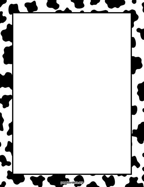 cow pattern frame cow print border watermarked jpg 2 550 215 3 300 pixels cute