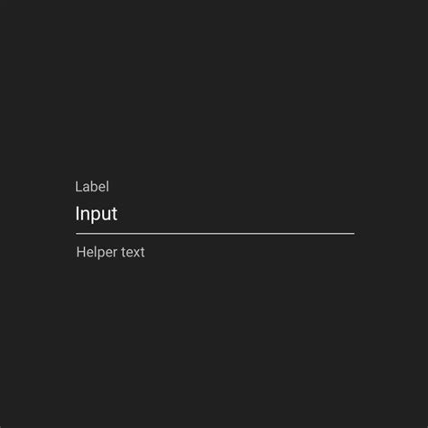 html input themes text fields components material design guidelines