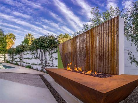 Concrete Planters acero corten decoracion para exteriores en 42 ideas geniales