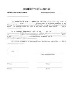 marriage agreement template marriage agreement contract sle