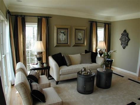 model living rooms forest manor model home