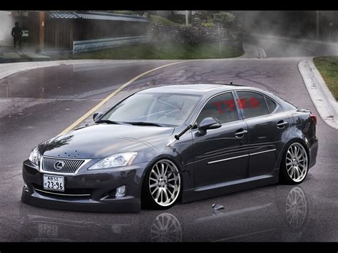 jdm lexus is250 crusader s profile autemo com automotive design studio