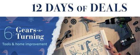 home decorators 12 days of deals 12 days of deals day 6 tools home improvement