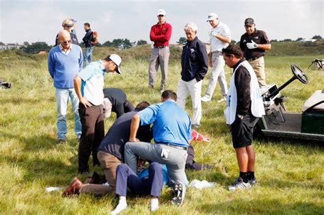 formicolio alla testa olanda il colpo che non ti aspetti golfista centrato