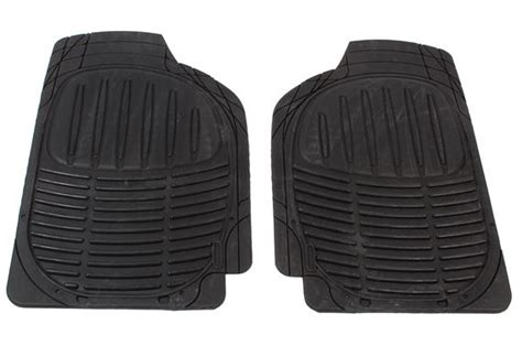 cannon profile ii classic rubber floor mat set front