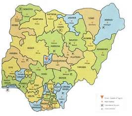 Map Of Nigeria States by Only Pictures Nigeria State Map