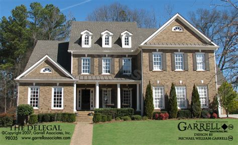 williamsburg style house plans delegal house plan house plans by garrell associates inc