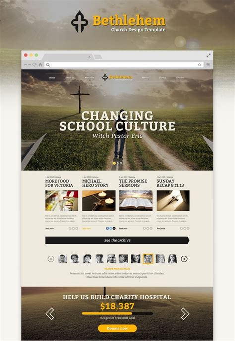 templates bootstrap church 26 best html5 church and charity website templates