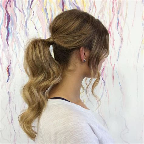 everyday casual hairstyles the 25 best messy ponytail hairstyles ideas on pinterest