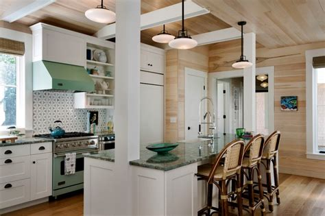 Maine Home And Design Kitchens Wharf House Style Kitchen Portland Maine By