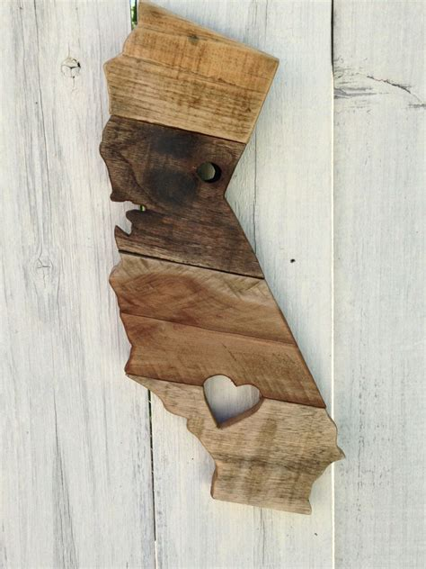 home decor wall signs reclaimed wood california sign wooden california