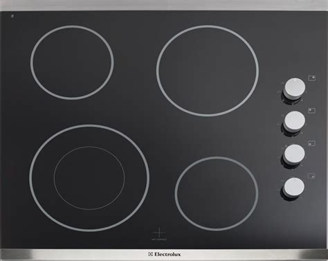 24 inch electric cooktop electrolux 24 inch smooth surface electric cooktop in