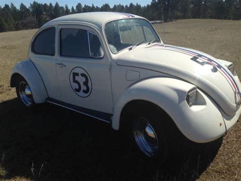 volkswagen beetle classic herbie 1973 vw bug herbie replica beetle
