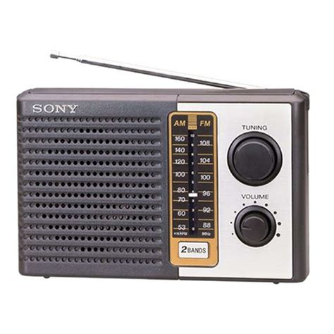Sony Radio sony icf f10 portable dual band transistor radio radios