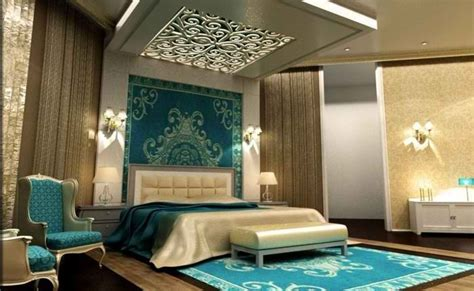 arabic bedroom set arabic perfection turquoise gold and white master