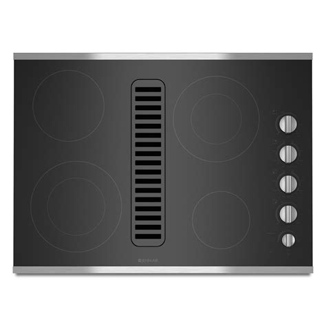 Jenn Air 30 Electric Downdraft Cooktop Prices jenn air jed3430ws 30 quot electric radiant downdraft cooktop
