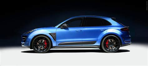 Porsche Macan is already 'tuned' by TopCar