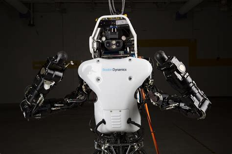 Expensive Kitchen Knives Darpa Atlas Robot Sheds Its Cables Runs Free