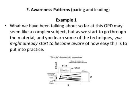 awareness pattern nlp revised psychology influence persuasion and nlp tds version