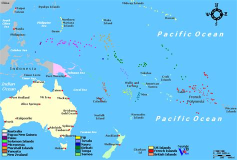 map of oceania oceania wine regions
