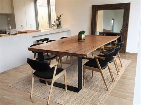 Bar Chairs For Kitchen Island wood slab table lumber furniture