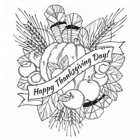 10 thanksgiving coloring pages 10 thanksgiving coloring pages free pdf printable download