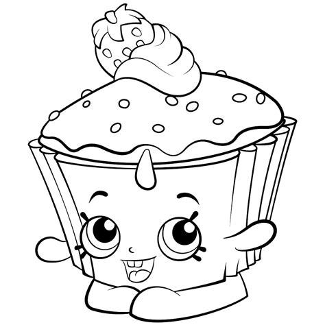 Shopkins Coloring Pages Best Coloring Pages For Kids Colouring Pages Free