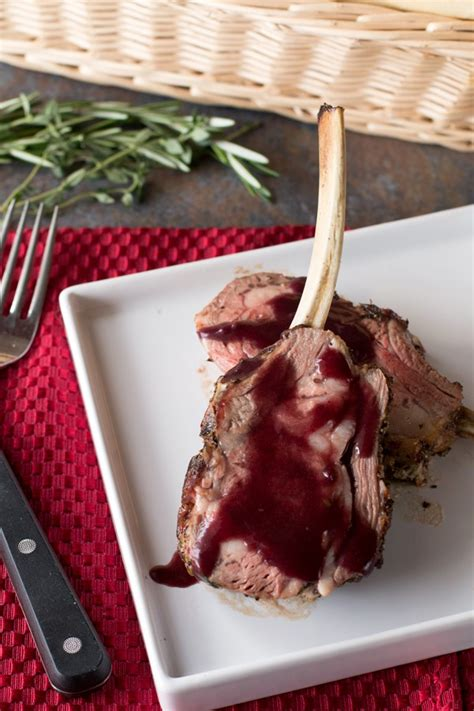 What Sauce Goes With Rack Of by Herb Crusted Rack Of With Wine Sauce Cake N Knife