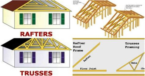 How To Install A Hip Roof Rafters And Trusses See The Main Differences Between