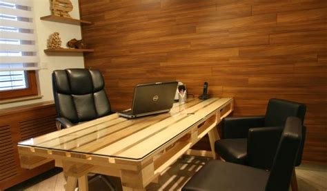 Diy Office Desk Ideas Diy Pallet Office Desk Goodiy
