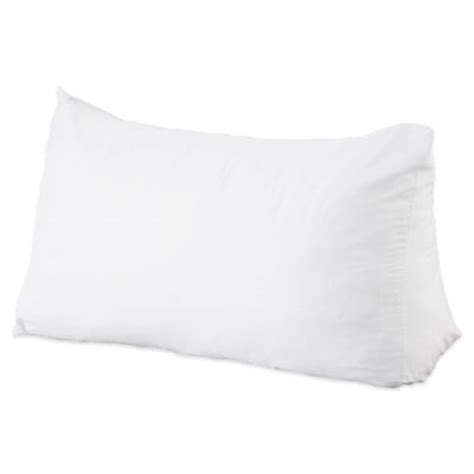 sit up in bed pillows buy sit up in bed pillow from bed bath beyond