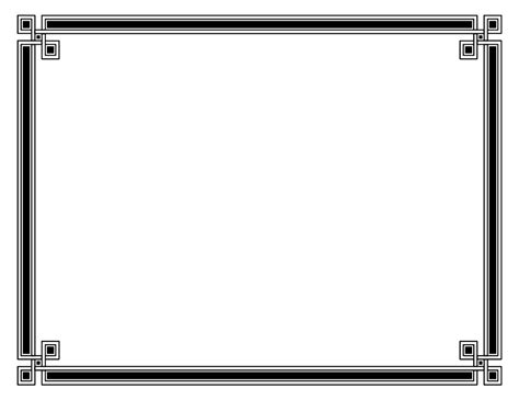 border template for word selimtd