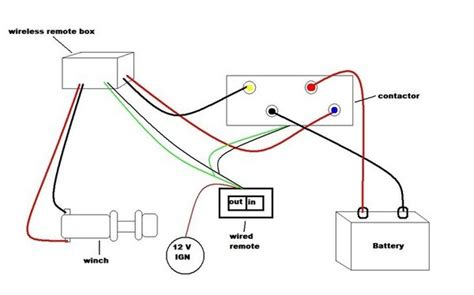 wiring diagram for a winch 26 wiring diagram images